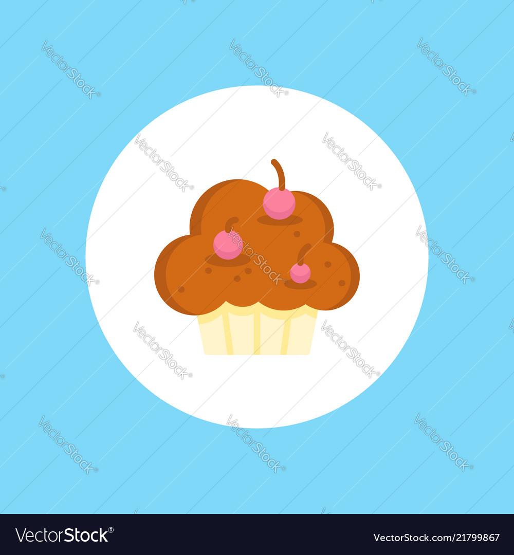 Muffin icon sign symbol