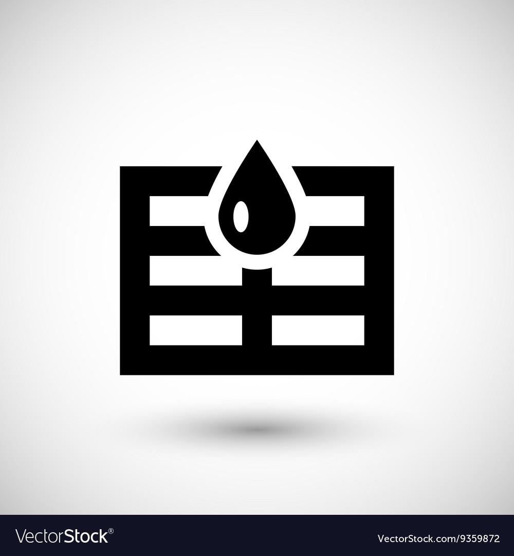 Sewerage system icon