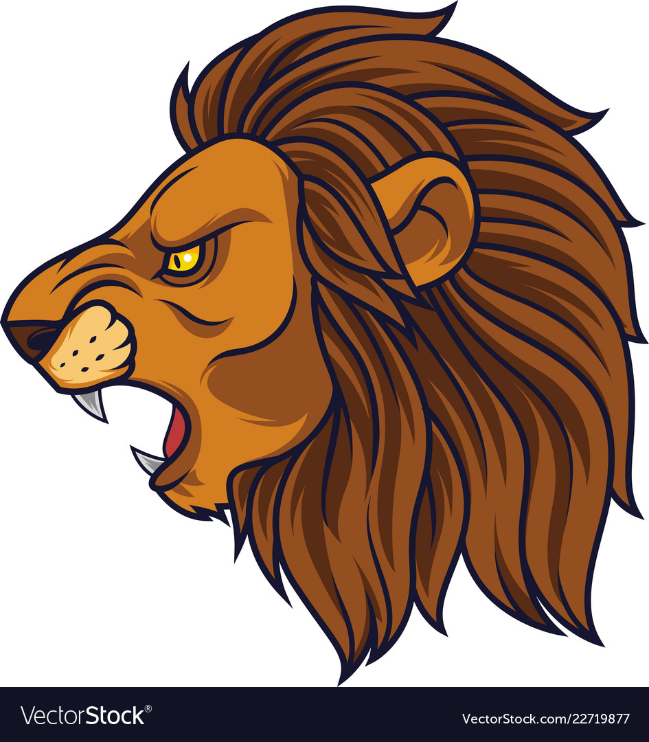 Lion Side Face Vector Images 54 Lion head side view tattoo lion outline tattoo related keywords. vectorstock