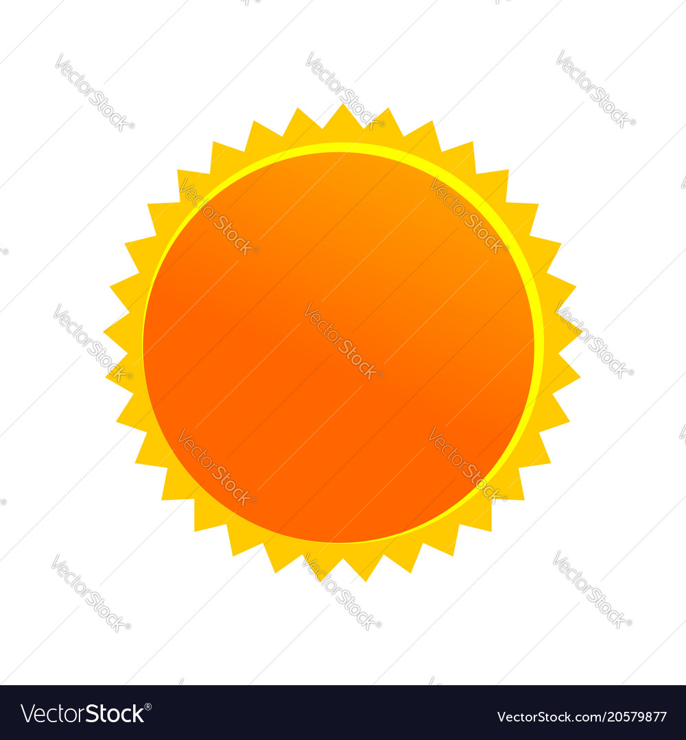 Sun cartoon drawing symbol design