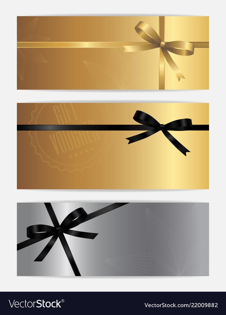 Black friday sales gift voucher or banner