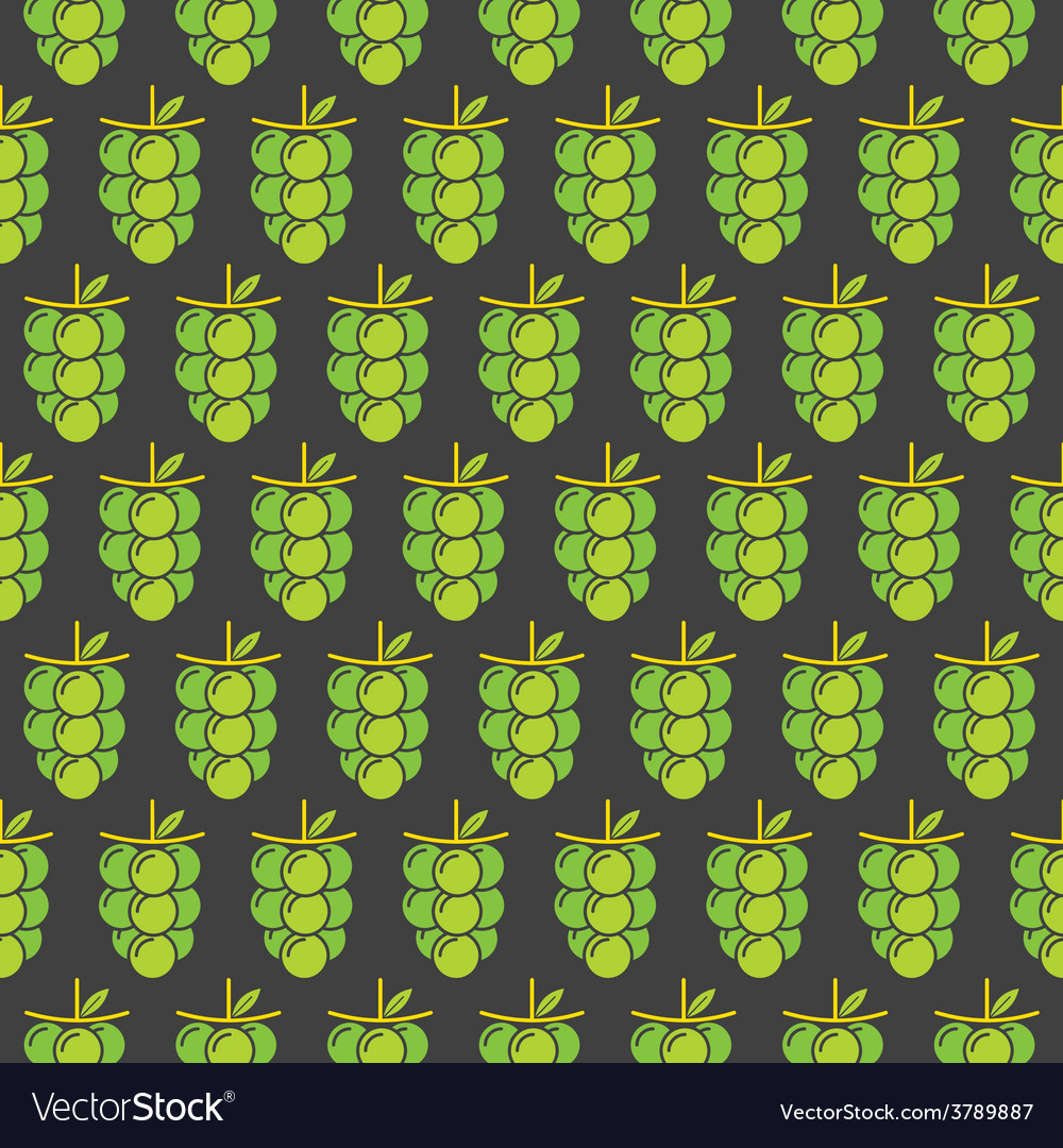 Green grapes bunch pattern design for wrapping gif