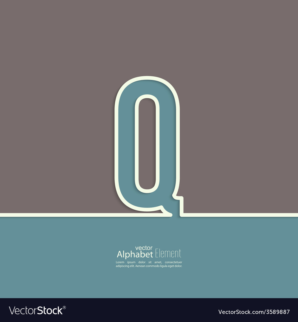 The letter of the alphabet