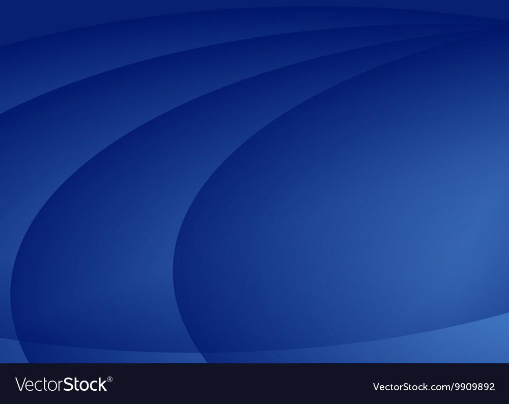 Blue ellipse background vector image