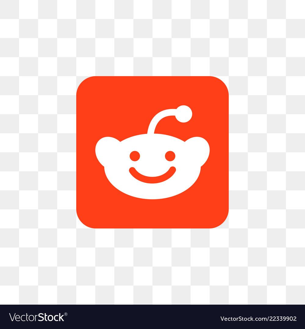 Reddit social media icon design template