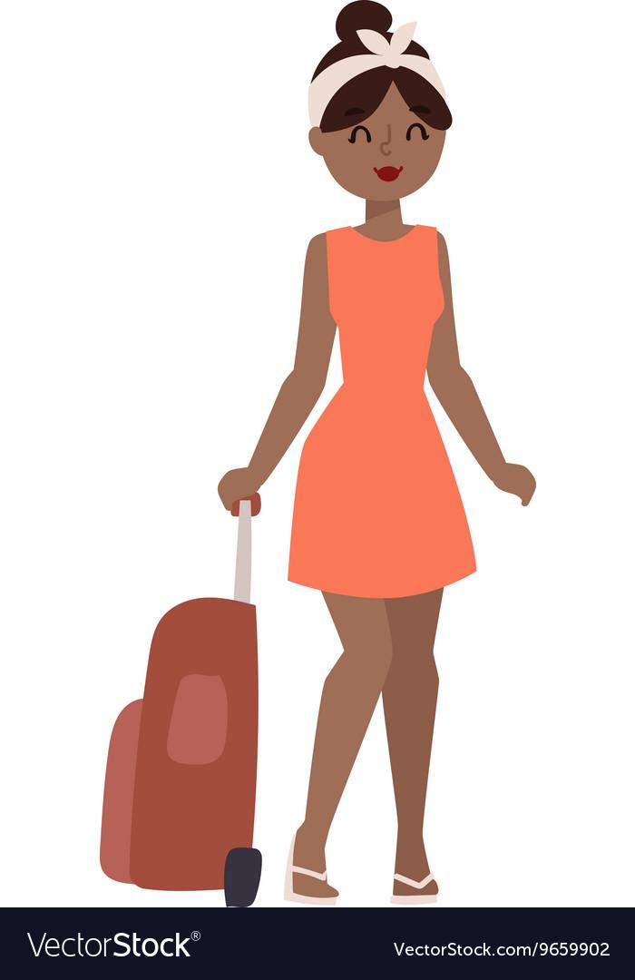 Vacation girl