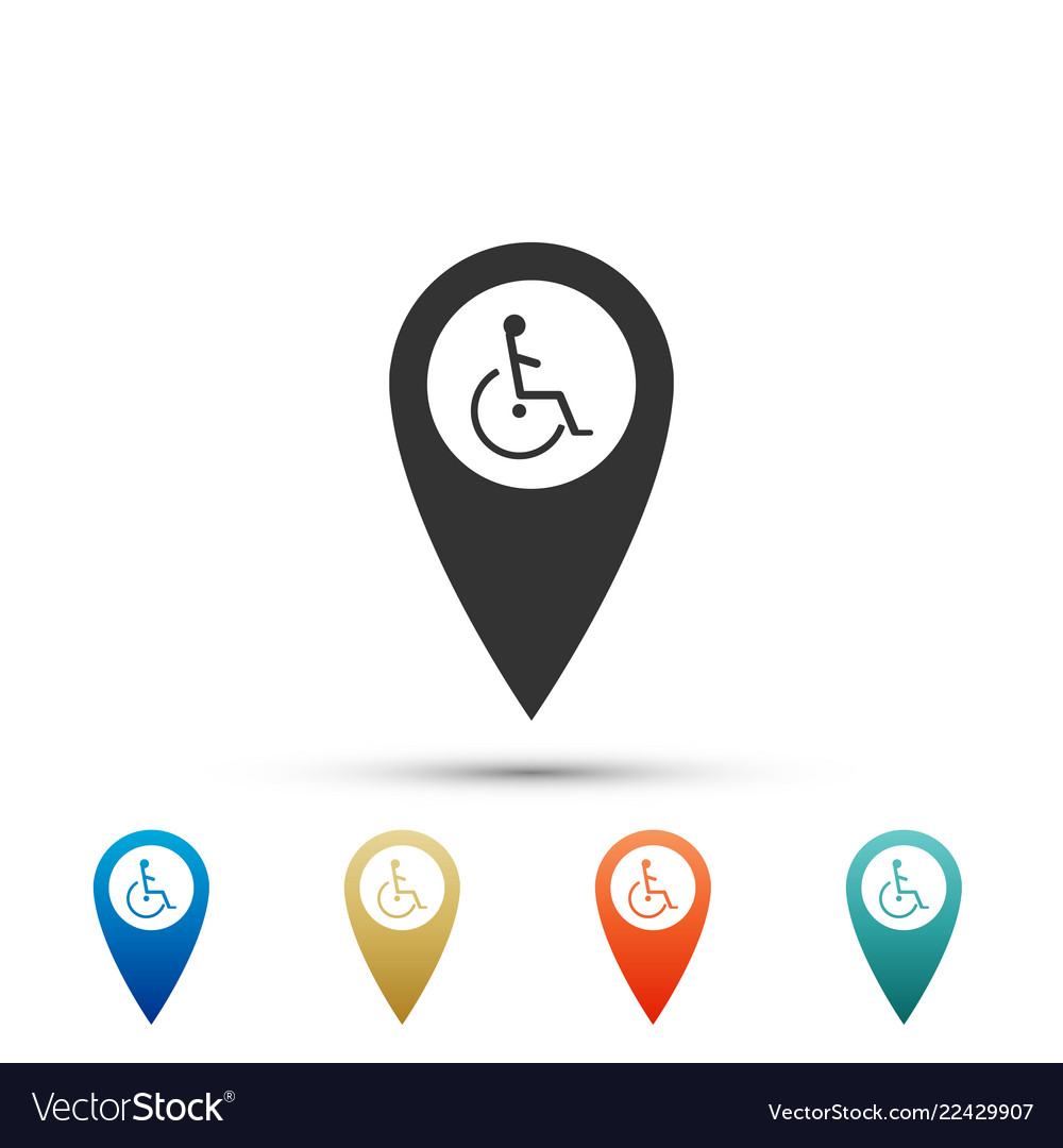 Disabled handicap in map pointer invalid symbol