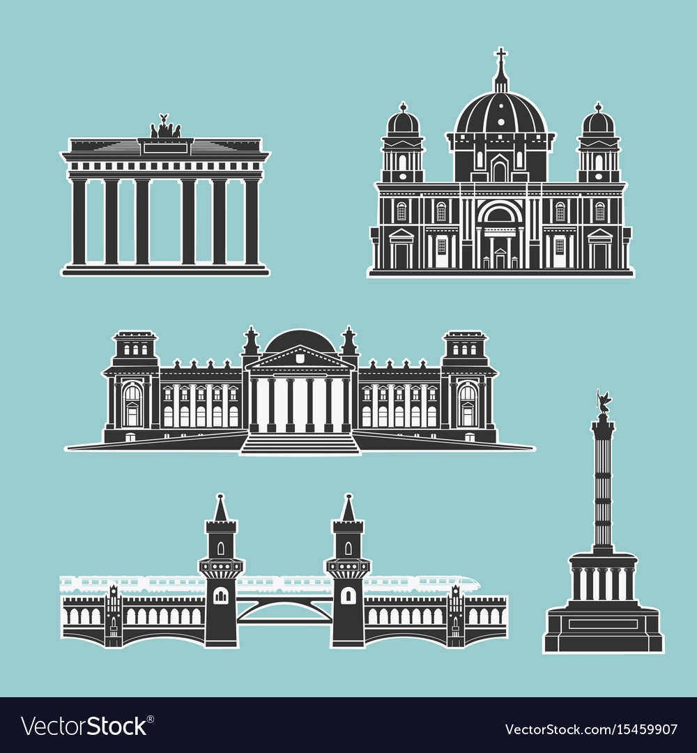 German historical monuments of architecture