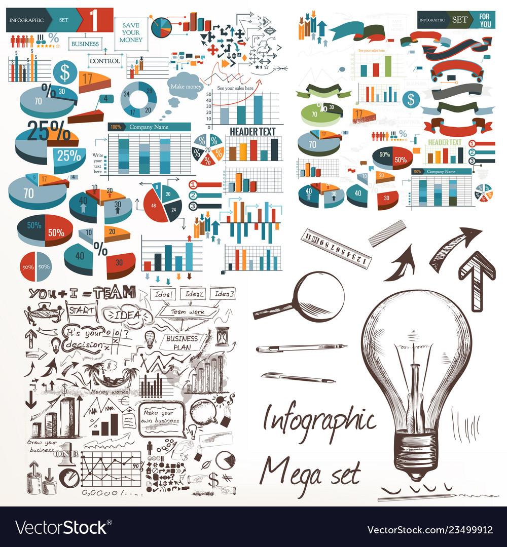 Business design elements set