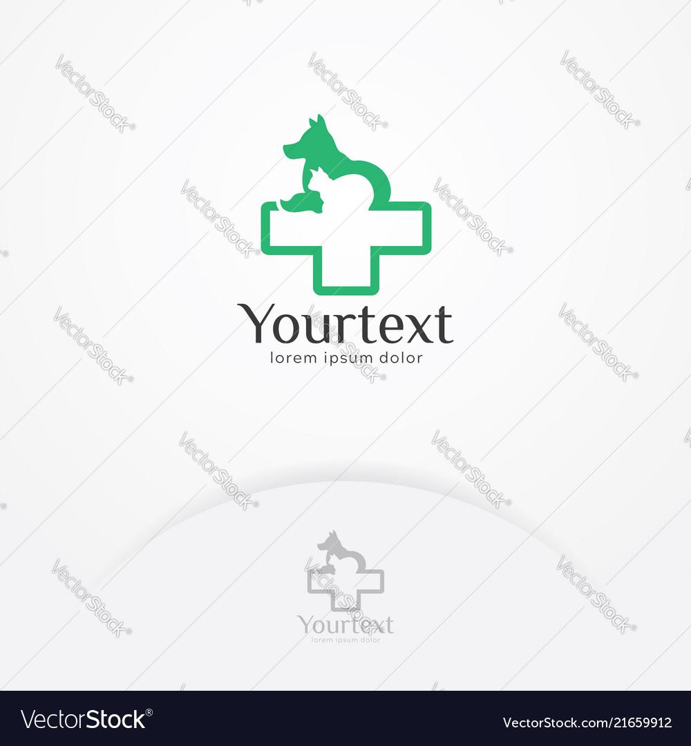 Pet clinic logo