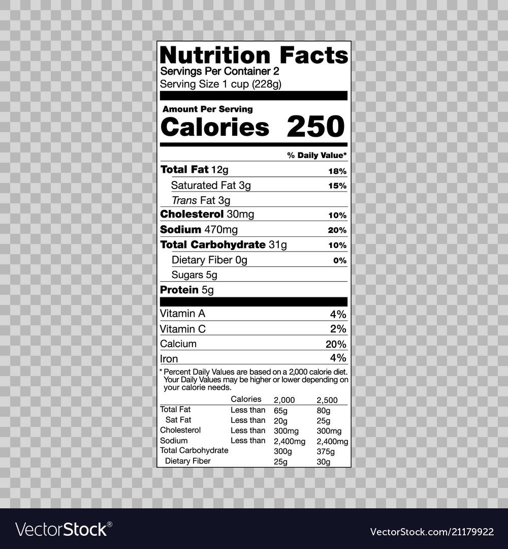 30 Nutrition Facts Label Pdf Labels Database 2020
