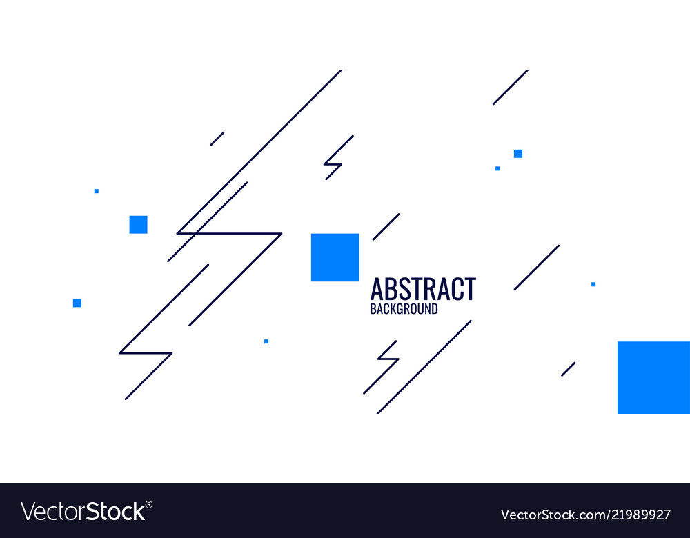 Abstract background in a flat minimalistic style