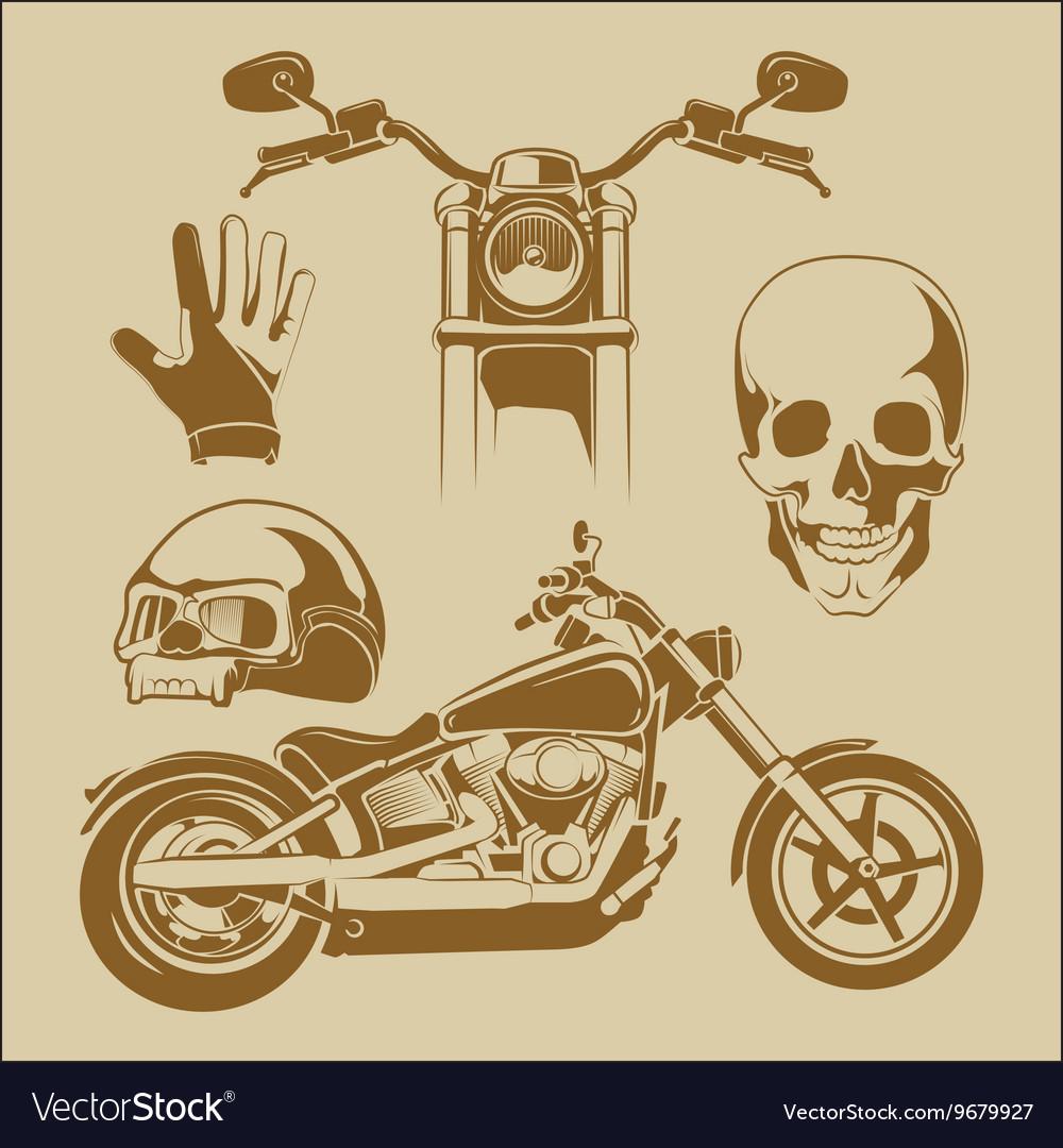 Elements for biker labels