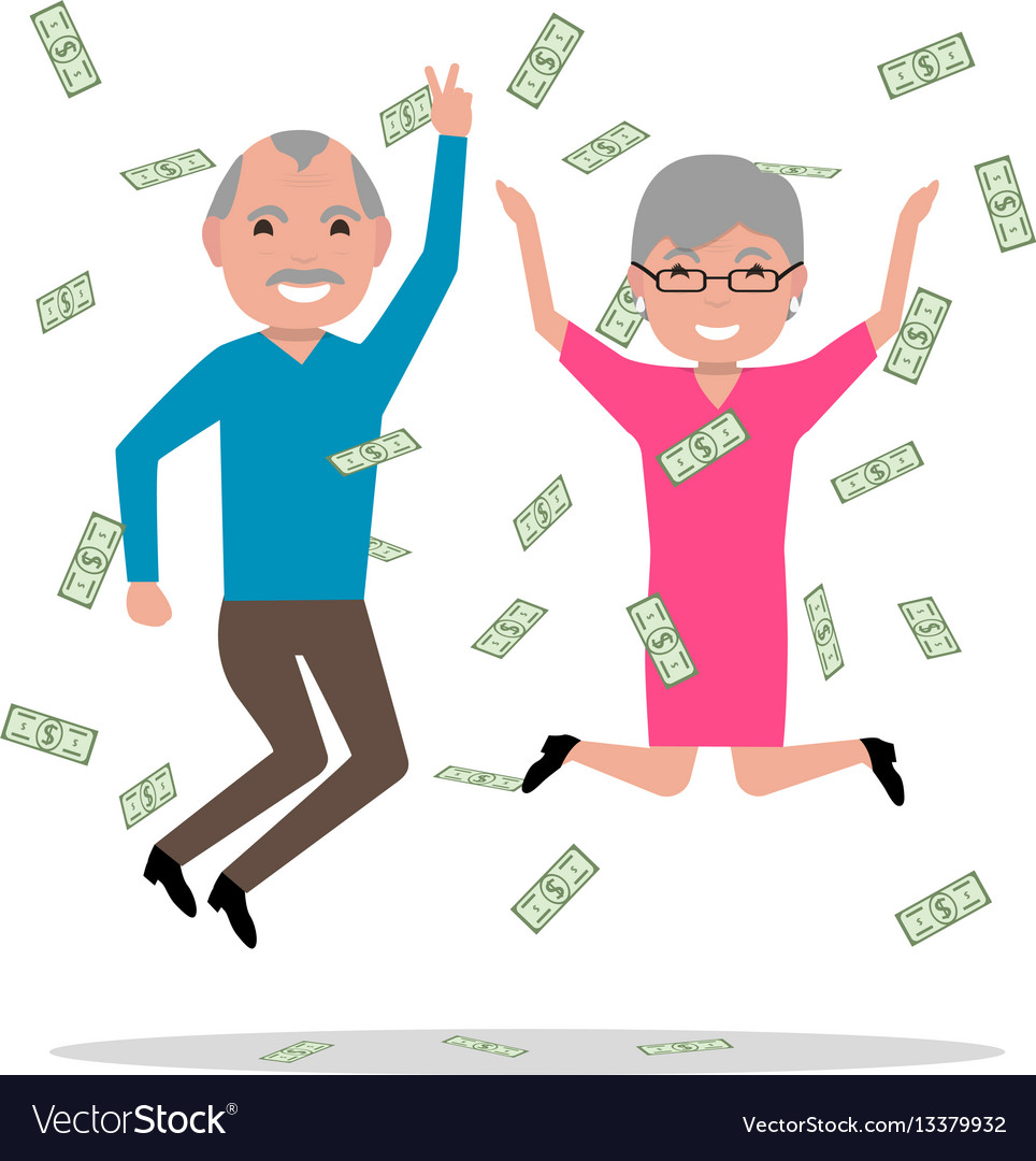 Grandparents won the big prize and became rich