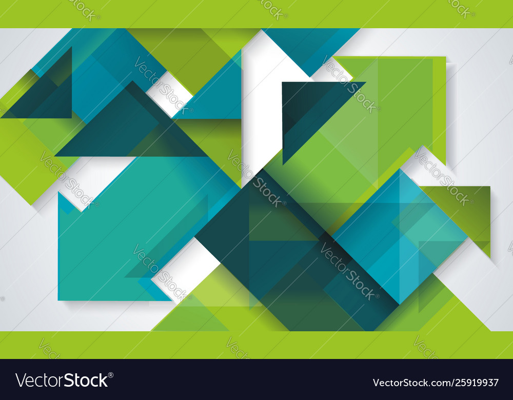Abstract background template design with cubes