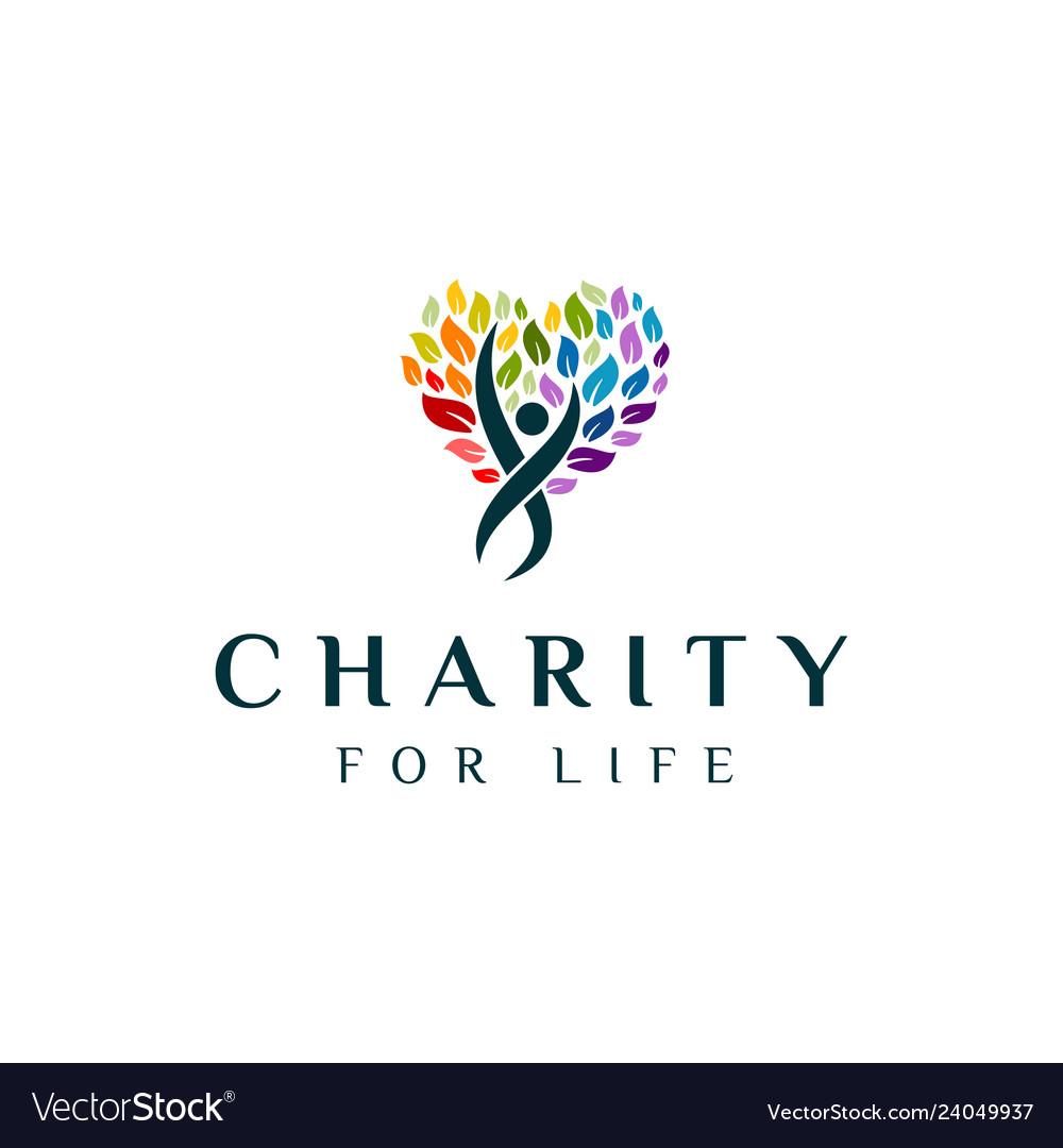 Charity tree logo
