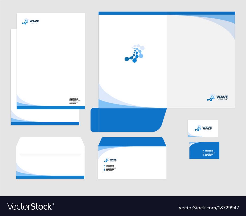 Corporate Identity Template Design Visual