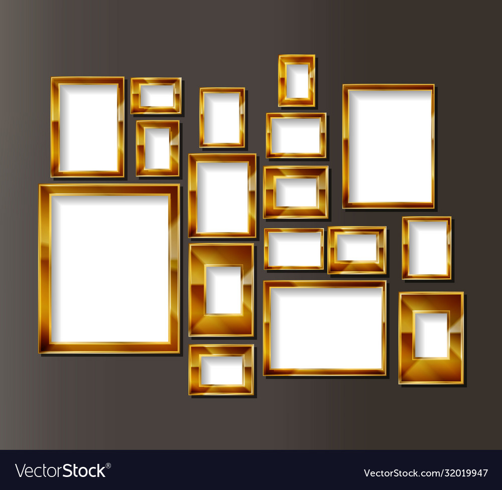 Frames for photos or paintings