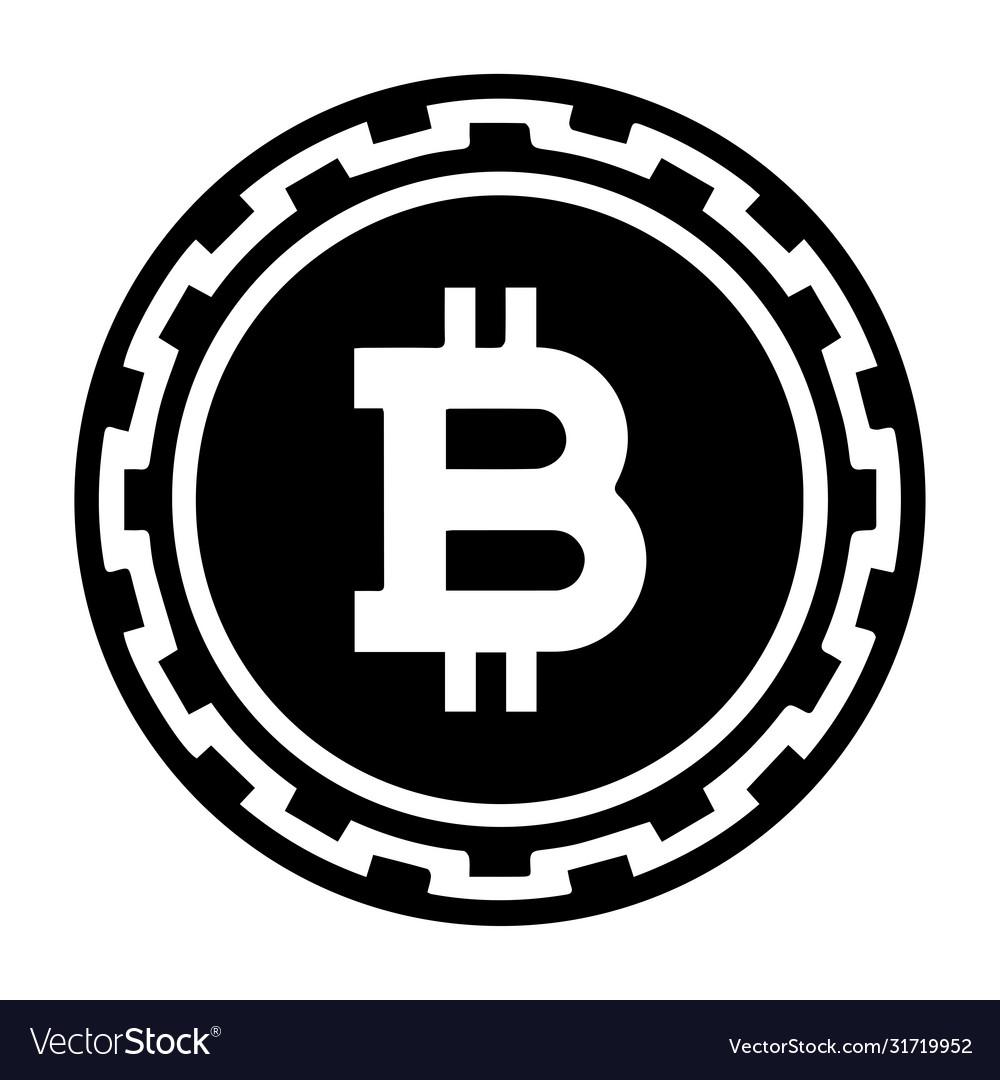 bitcoin logo betűtípus