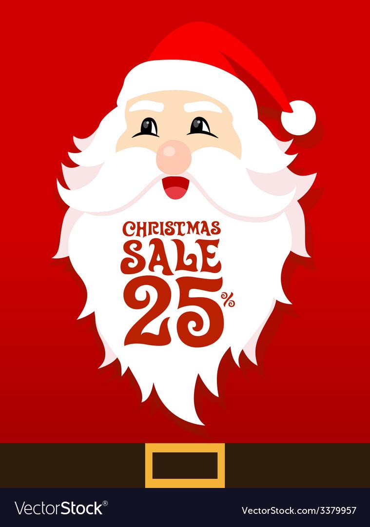 Santa Card Sale