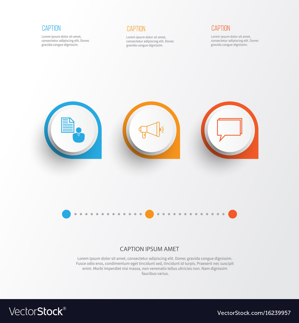 Seo icons set collection of media campaign