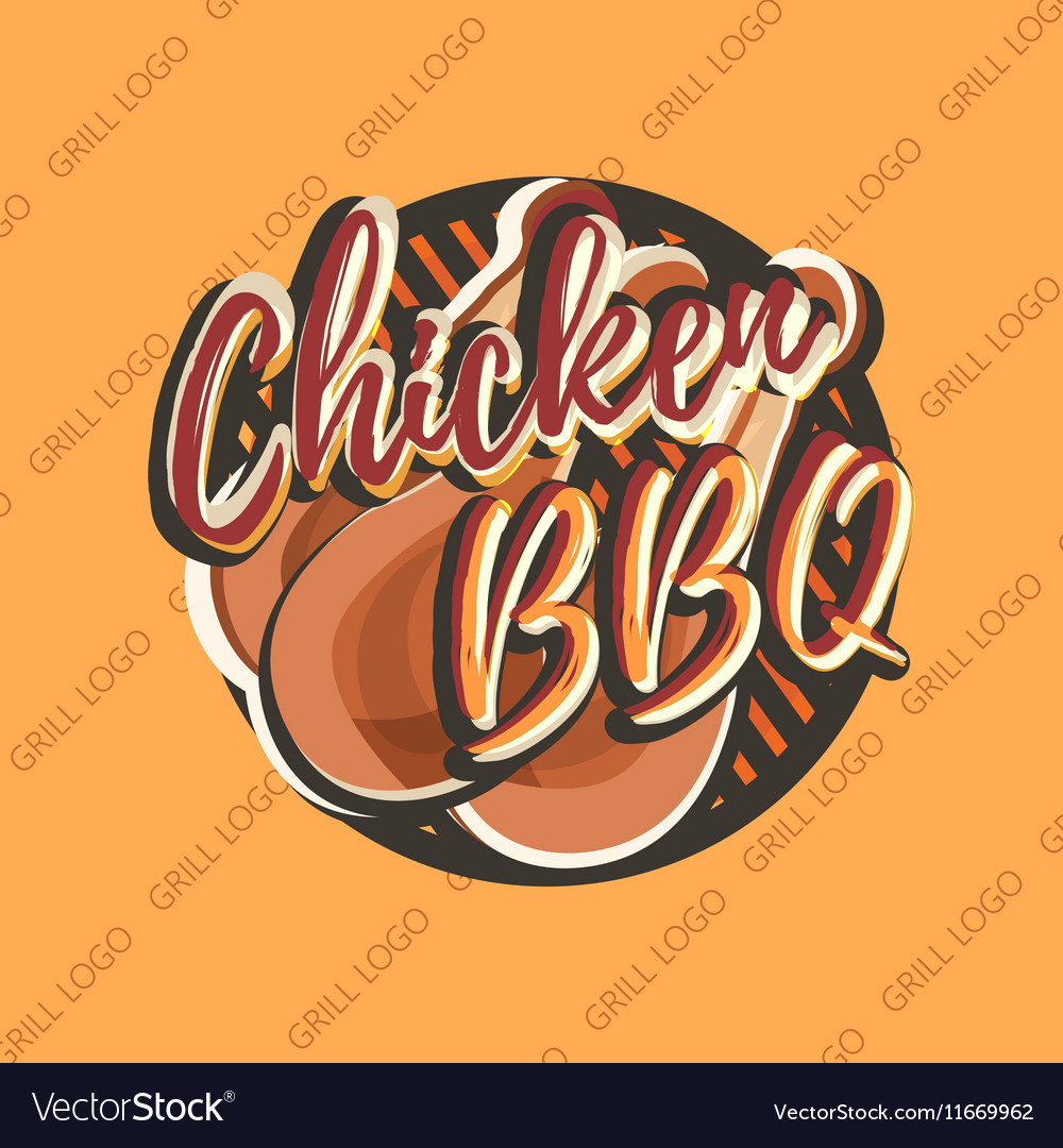 Creative logo design with chicken legs