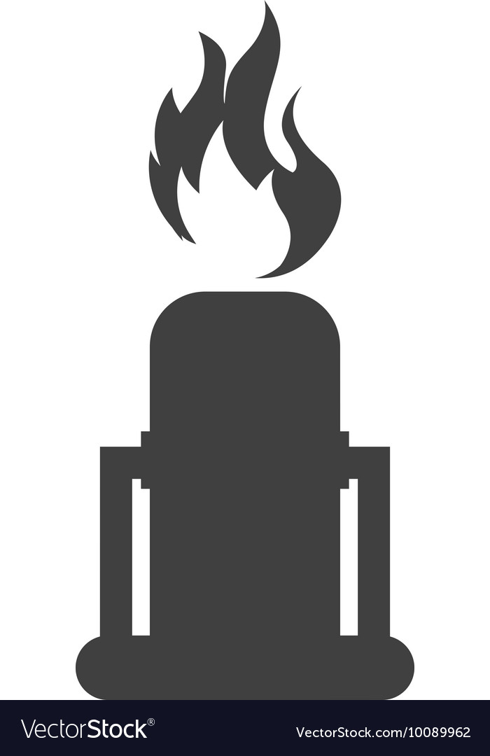 Nuclear plant chimney icon