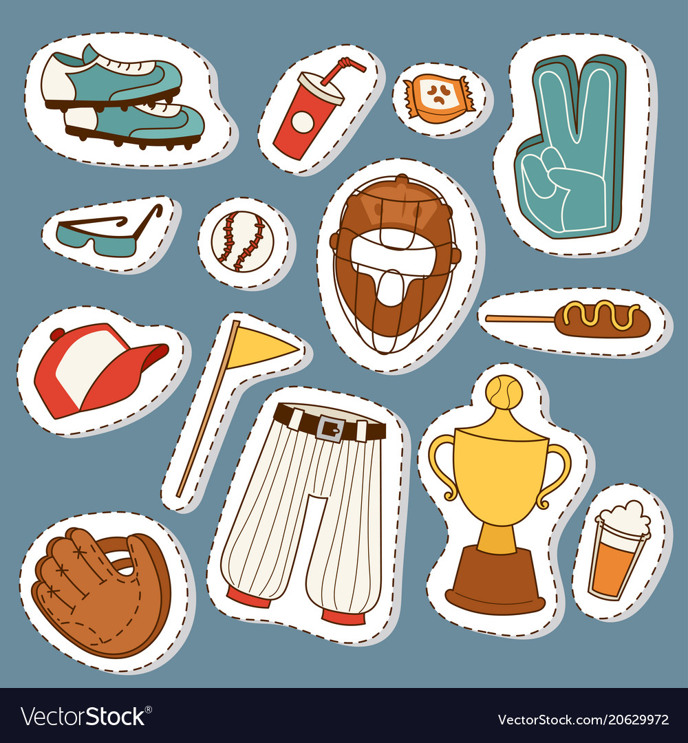 Baseball sport competition game team symbol