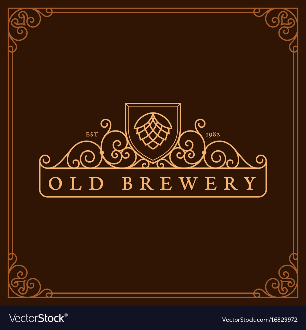 Brewery label