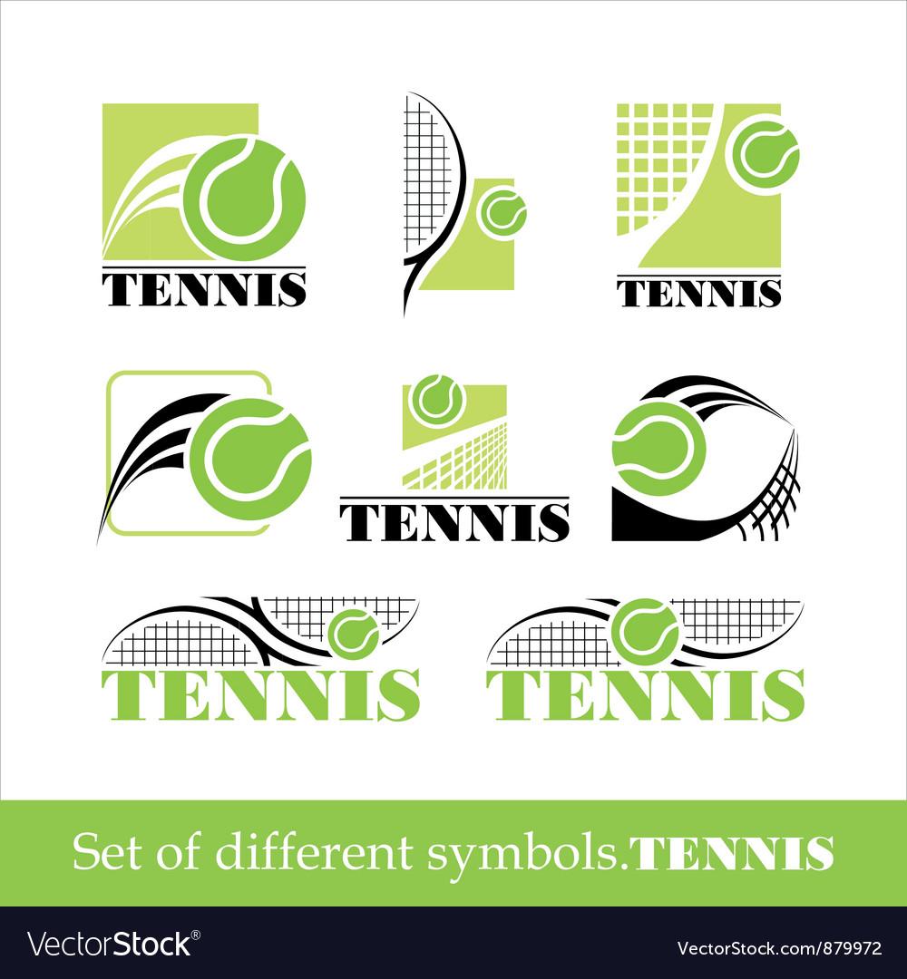 Tennis symbol