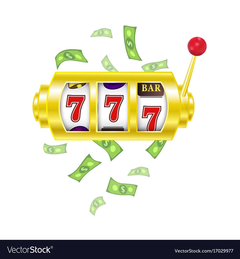 Flat slot mashine jackpot triple seven