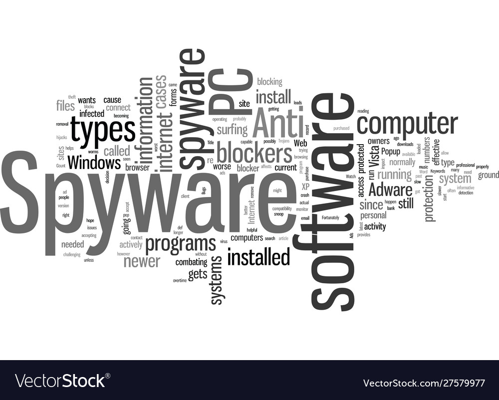 Importance of pc anti spyware and spyware blockers