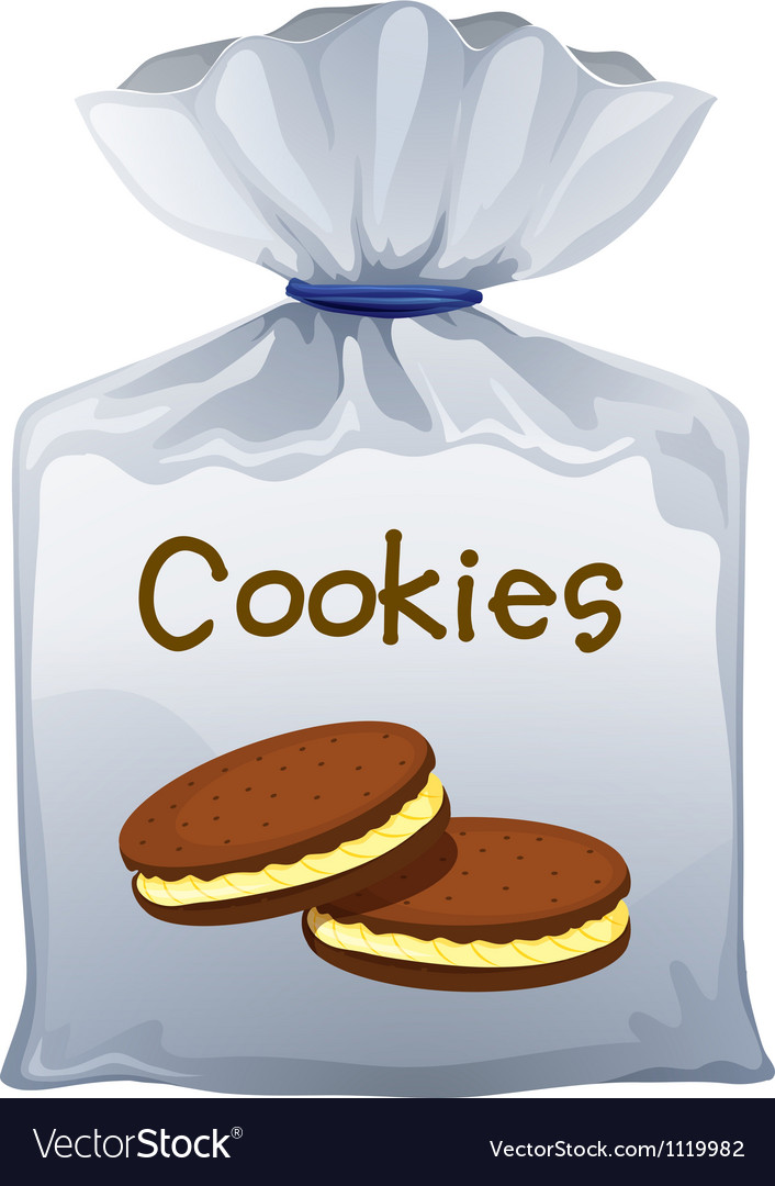 A Pouch Bag Of Cookies