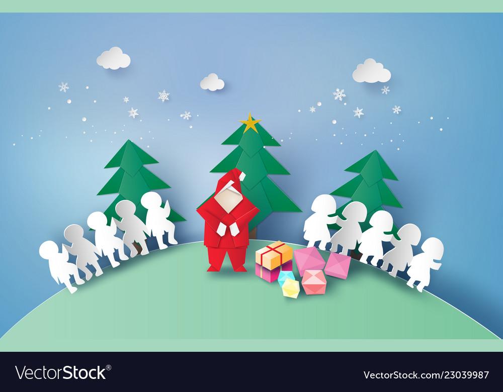 Chain and gift boxs on christmas holiday
