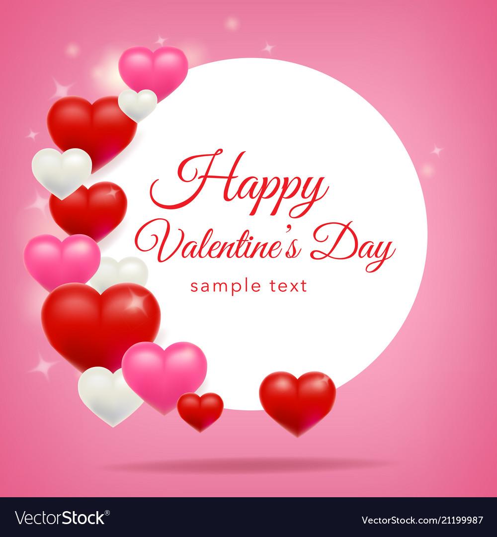 Happy Valentines Day Background Design Wallpaper