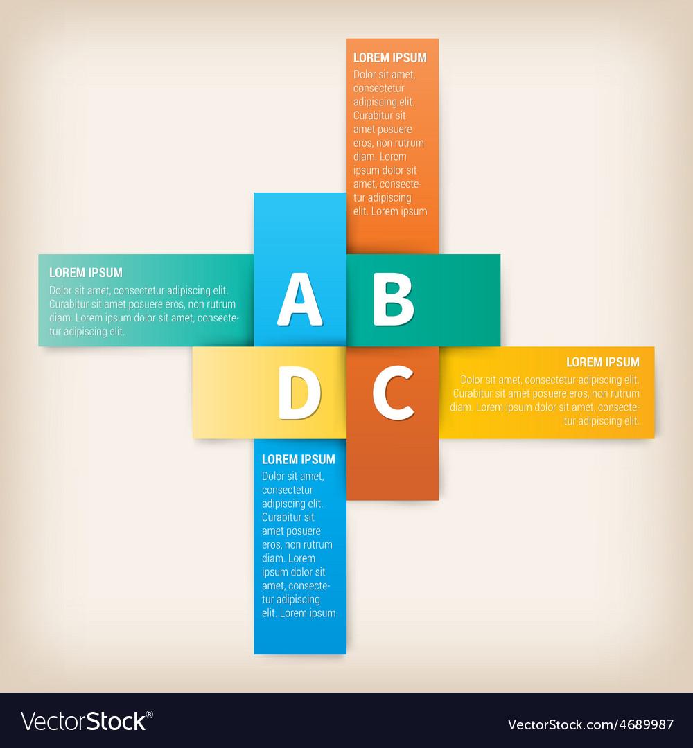 Modern Design template for website or print