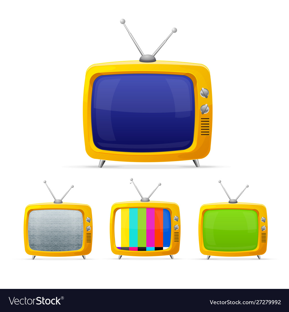 Different tv with color screen display set