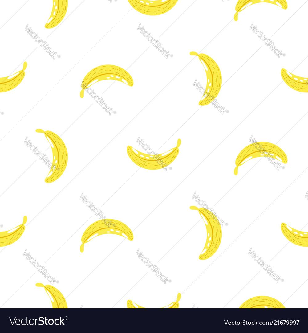 Banana simple seamless pattern texture