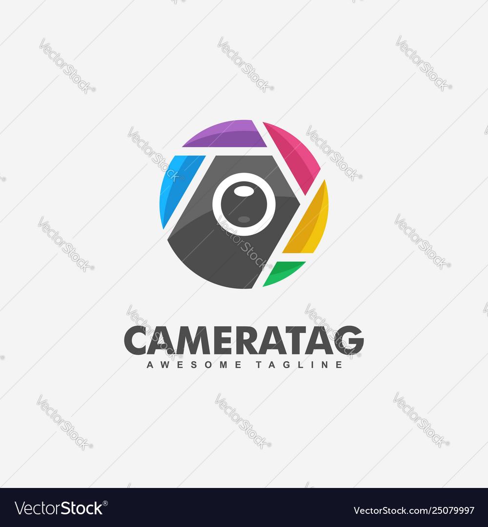 Camera tag concept design template