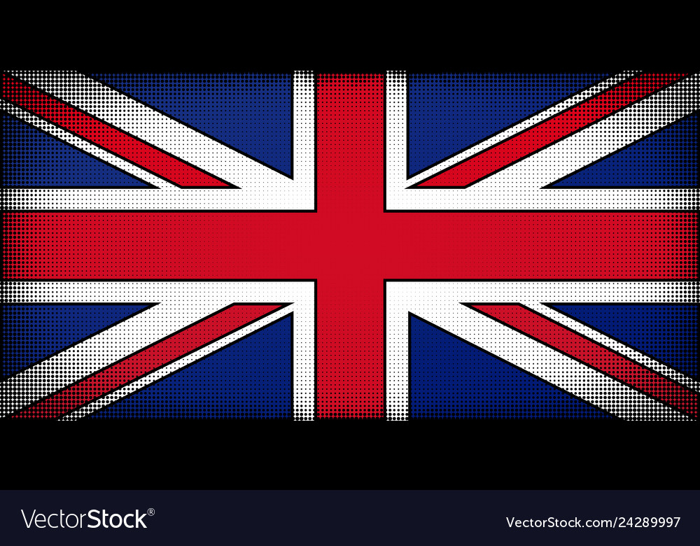 Comic book uk flag