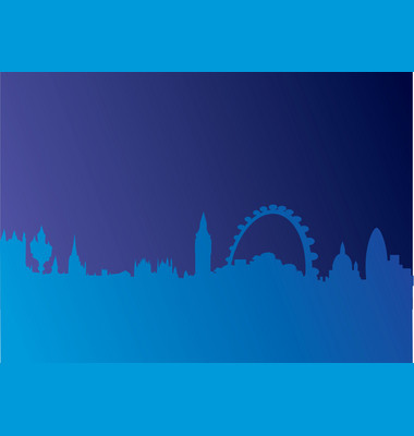 London Skyline Vector. Artist: ScottRoderick; File type: Vector EPS