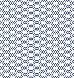 blue geometric rhombus patterns vector image