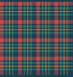 Classic tartan merry christmas seamless patterns vector