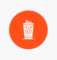 Coffee mug starbucks black coffee vector