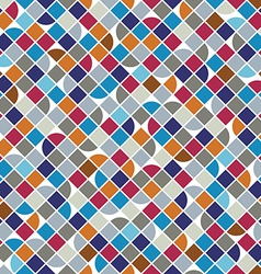 Colorful geometric background squared bright vector