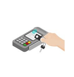 Contactless payment vector