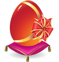 egg as a gift vector image