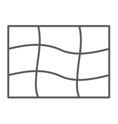 Mesh tool thin line icon tools and design vector