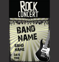 music background - rock concert 2 vector image