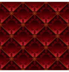 Red pattern vector